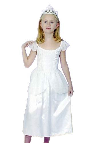 FashioN HuB Disfraz infantil de princesa de la madrina de la princesa de las flores de la fiesta de la reina de hadas