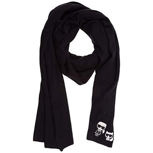 Karl Lagerfeld damen k/ikonik Schal black