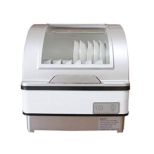 Lavavajillas De Sobremesa Totalmente Automático para El Hogar, Lavaplatos Compacto, Lavaplatos Independiente para El Hogar, De Bajo Consumo, Desinfección Rápida por Rayos Ultravioleta A Alta Tempera
