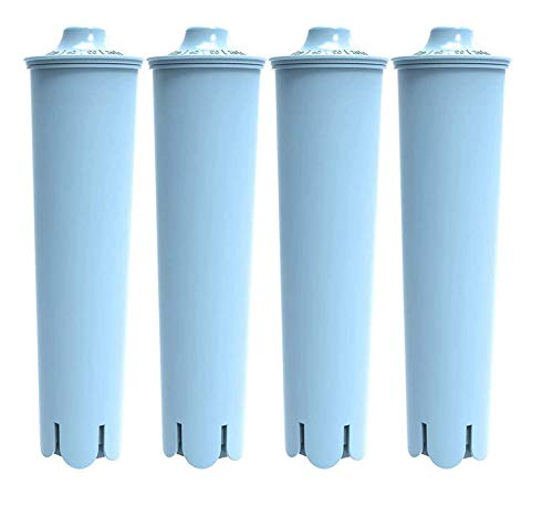 HiWater 4 Packs Water Filter Compatible with Jura Claris Clearyl Blue for Coffee Machines Replacement