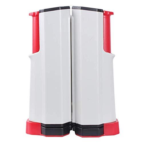 YLJYJ Rack portátil para Red de Tenis de Mesa, Red de Ping-Pong retráctil, Ajustable para Cualquier Soporte de Viaje, Accesorios Deportivos para Interiores y Exteriores, Ra (Juegos de Escritorio)