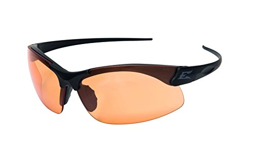 Negro Mate Sharp Edge Edgeware Tactical Safety Eyewear / Gafas de protecci/ón Revestimiento antiara/ñazos sin beschlage Tiger s Eye Vasos/