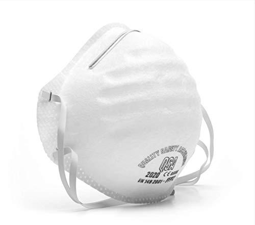 MOULÉ SÉRIE DROMEX QSA 2000 avec filtre FFP2, masque de protection efficace contre les bactéries...