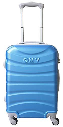 Maleta Cabina ABS Ligero 4 Ruedas GianMarcoVenturi 001_(Azul