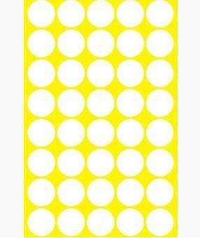Da.Wa Pegatinas Redondas Colores,10mm Etiquetas Redondas Hojas Ronda Dot Pegatinas Puntos para La Oficina, Escuela, Calendarios, Etiquetas Engomadas del Mapa