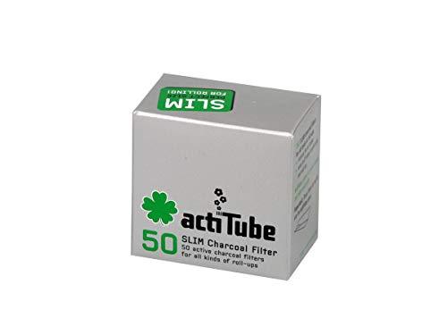 actiTube Slim Aktivkohlefilter 7,1m (4x50) Weltneuheit! Aktivkohle Filter