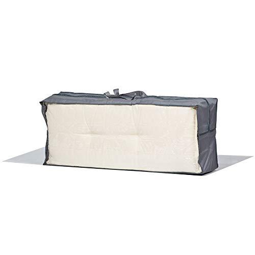 Premium Schutzhülle für 4 Gartenmöbelauflagen aus Polyester Oxford 600D von \'mehr Garten\' - Tragetasche für Gartenstuhlauflagen