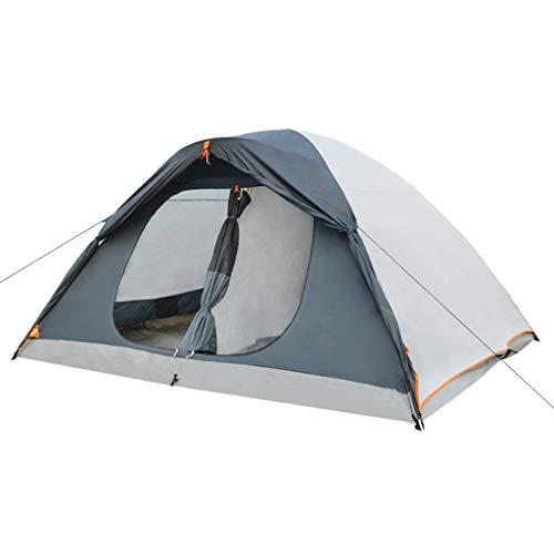 LIZHAIMING Plage Ombrage 8 Personne Tente Explorer Chambre Double en Plein Air Grand Fournitures D'équipement De Camping Tente D'aventure De Survie Sauvage