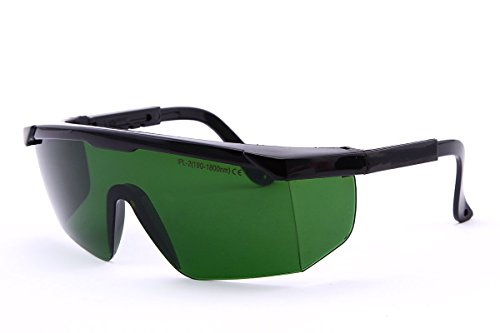 Nadalan 200-1700nm gafas láser gafas de protección láser