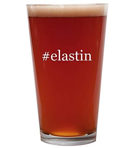 #elastin - 16oz Beer Pint Glass Cup