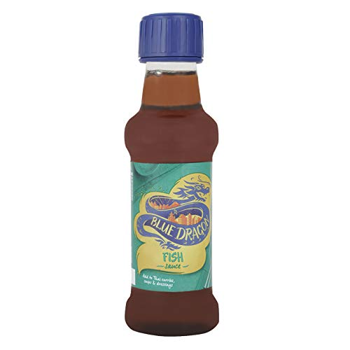 Salsa de pescado Thai Blue Dragon 150 ml (paquete de 1)