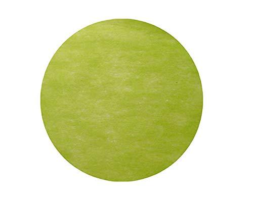 50 Sets de table - 'Rond' Vert