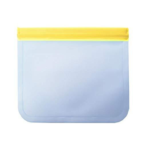 Bolsas de almacenamiento reutilizables de silicona para alimentos ...