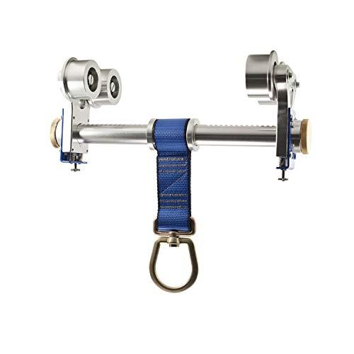 Frontline ST10HT Aluminum I-Beam Trolley Anchor for 3' - 10 | | 310lb Capacity 22kN Breaking Strength | ANSI & OSHA Compliant | Both Sliding and FixedAnchor