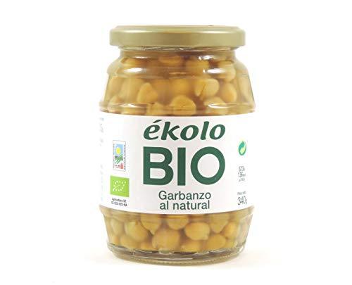 Ekolo Garbanzos Al Natural Bio, 6 Tarros,340g 2040g