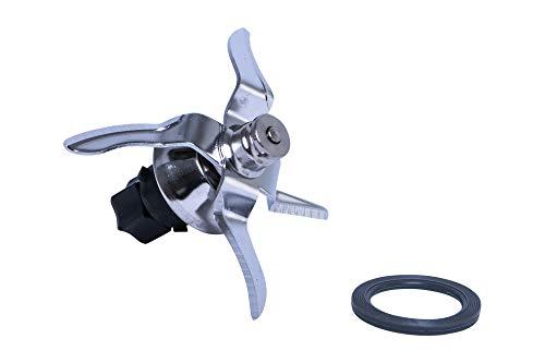 Cuchilla de repuesto de alta calidad, incluye junta, apta para Vorwerk Thermomix TM5 TM 5, de acero inoxidable.