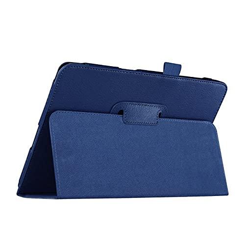 LIUCHEN Funda de tabletaPara Samsung Galaxy Tab A 9.7 Funda, PU Funda de Cuero con Soporte Tab A 9.7 Tablet SM-T550 / SM-T555 / P550 Auto Sleep / Wake, T550 P550 Azul Oscuro