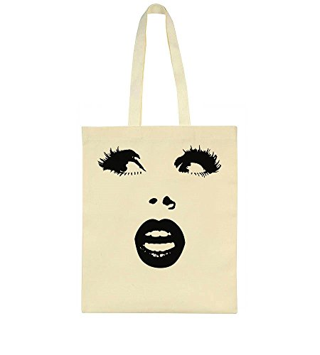 IDcommerce Pretty Woman Face With Nice Lips And Gorgeous Lashes Tote Bag
