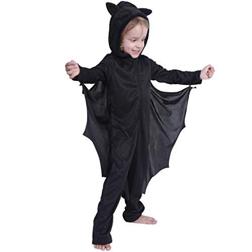 Eraspooky Kid's Bat Costume Halloween Vampire Suit for Girls Kids Costumes Boys Suit - Funny Cosplay Party
