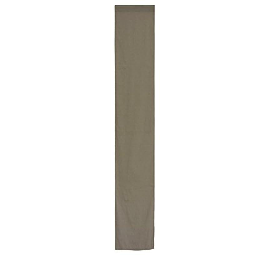 採用子孫分類するのれん 単品 約28cm×170cm SERO-セロ- ブラウン 組み合わせのれん コットン100%のやさしさ 目隠し 間仕切り 幅狭 ナチュラル ロング おしゃれ 北欧 無地 綿