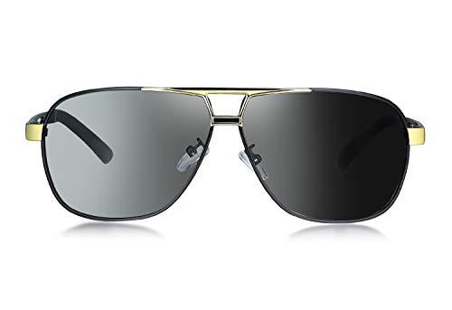 WHCREAT Gafas Sol Polarizadas Fotocromáticas Estilo