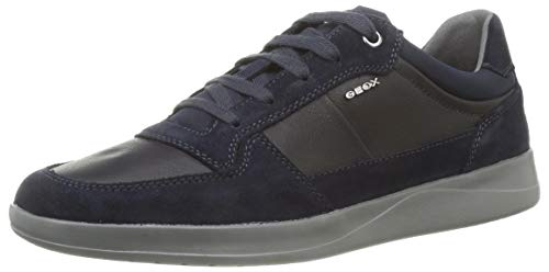 Geox U KENNET A, Zapatillas Hombre, Azul Marino, 42 EU