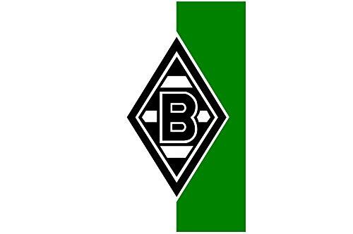 Hissflagge Borussia Mönchengladbach - 150 x 250 cm + gratis Aufkleber, Flaggenfritze®
