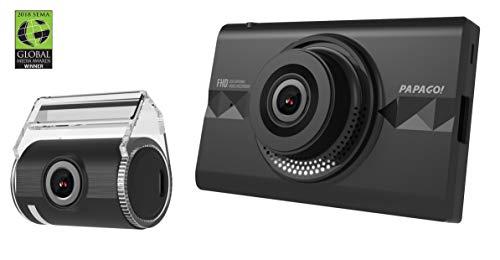 "PAPAGO GoSafe 366 Dash Cam 1080P FHD DVR Car Driving Recorder, Front and Rear Camera Set, 3.5""..."