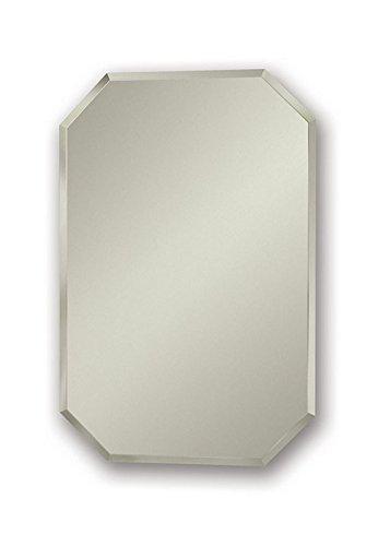 Jensen 1454X Octagon Bevel Mirror Medicine Cabinet, 18″ x 27″