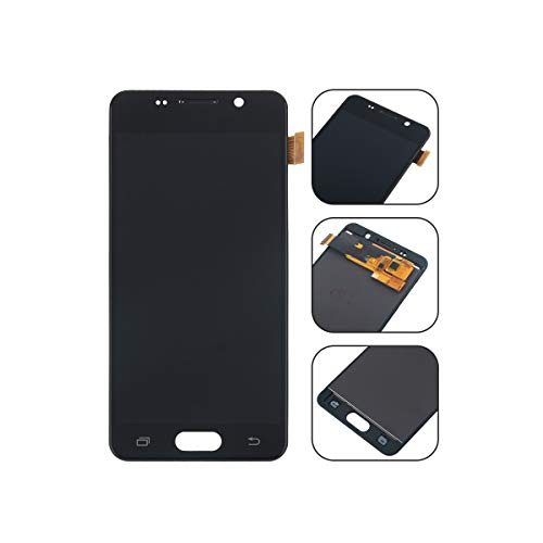 YHX-OU für Samsung Galaxy A3 SM-A310F 2016 A310 LCD Display Touchscreen Ersatz Bildschirm mit Komplett Werkzeug (Schwarz)