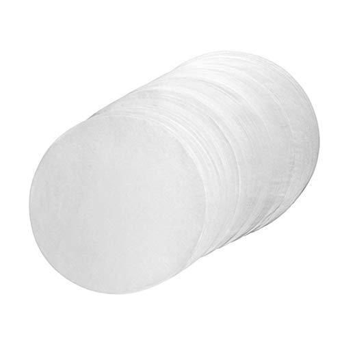 rethyrel 500 piezas de papel circular para hornear – papel de aceite de silicona para hornear seguro antiadherente accesorios de cocina para el hogar