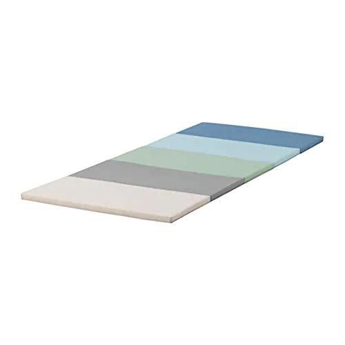 IKEA PLUFSIG Faltbare Turnmatte für Kinder blau