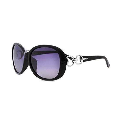 BLEVET Damen Sonnenbrille Polarisiert Klassisch Groß 100% UV-Schutz