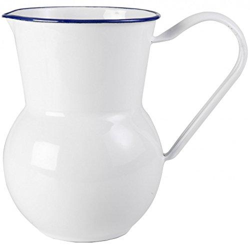 IBILI 904915 Pot à Eau San, INOX, Blanc, 13 x 13 x 18 cm