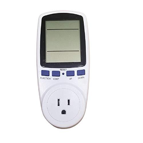 Digital Power Monitor Meter Usage Energy Watt Amp Volt KWh Electricity