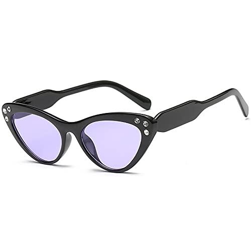 HAOMAO Diseñador de la Marca Uv400 Gradient Diamond Cat Eye Gafas de Sol para Mujer 7