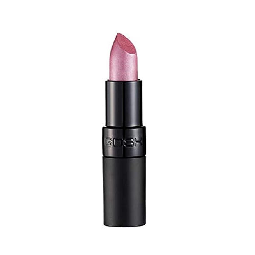 納得させるハイキングインレイ[GOSH ] おやっベルベットタッチ口紅131アメジスト - Gosh Velvet Touch Lipstick 131 Amethyst [並行輸入品]