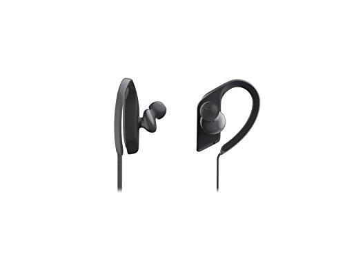 Panasonic RP-BTS35E-K Bluetooth In-Ear Kopfhörer (wasserfest, Schnellladefunktion, flexible Ohrbügel, schwarz)