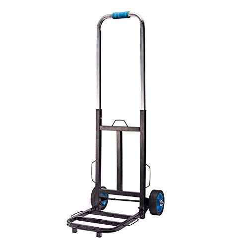 Carrito de utilidad plegable, carretilla de escalada de escalera, carro de carga móvil de polea, carro de equipaje, carro multifunción, carro de carga móvil, 1002 HRSS (color: 1001)