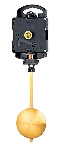 Selva, meccanismo per orologio a pendolo, movimento al quarzo, ideale come pezzo di ricambio per orologi da parete, prodotto in Germania, lunghezza lancette 18 mm, spessore cassa 9 mm
