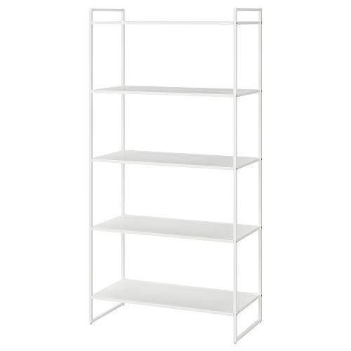 JONAXEL estantería 80x38x160 cm blanco