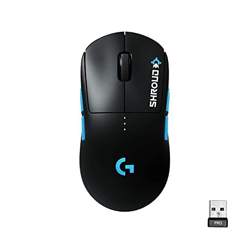Logitech G PRO Wireless Gaming Mouse - Shroud Edition (Renewed)