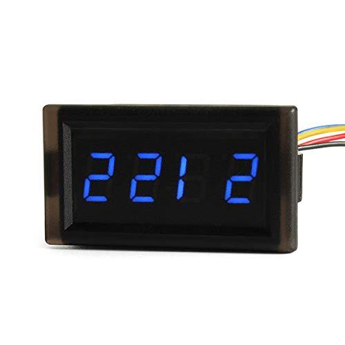 YALIXING Electrónica de vehículos Reloj electrónico automotriz DIY DIY Creativo LED de vehículo Digital Reloj Impermeable Reloj Luminoso Proporcionarle una Mejor Experiencia de conducción