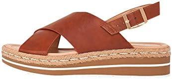 Marypaz, Sandali da donna, alla moda, estivi, colore: marrone