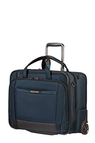 Samsonite Pro-DLX 5-17.3 inch laptoptas met wieltjes, 48,5 cm, 37,5 L, blauw (Oxford Blue)