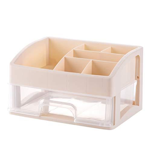 Boîte de Rangement cosmétique en Plastique Bureau Simple Type De Tiroir Rouge à Lèvre Bijoux Produits de Soins de La Peau Boîte De Affichage De Stockage FANJIANI (Color : B, Size : 27 * 19 * 31cm)