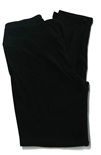 Lularoe Solid Leggings Tall & Curvy (TC) Fits Pants Size 12-18 (Black)