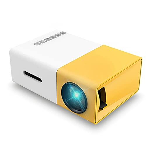NewIncorrupt Proiettore portatile a colori a LED Videoproiettore per regali per bambini Proiettore per intrattenimento all aperto