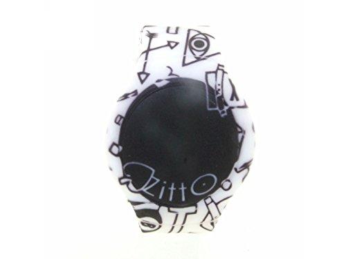 Orologio ZITTO grande a led con cinturino in silicone Limited Edition SWAG G