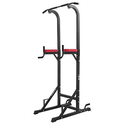Multifunzione: Power Tower, chiamata anche sedia romana, dip station, pull up, chin-up bar o barra di trazione, è un dispositivo di allenamento multifunzione (almeno 5 in 1). Ideale per gli esercizi di trazione, addominali, schiena e tricipiti, anche...